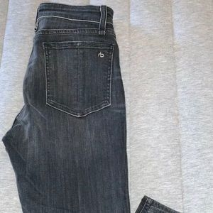 Rag and Bone black Nina Skinny jeans size 4